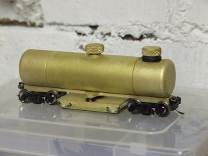 rails poets modeltrein
