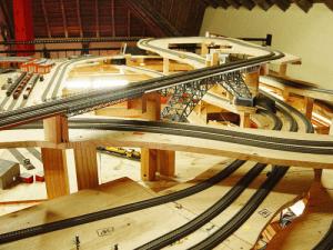 Onderbouw modelspoorbaan