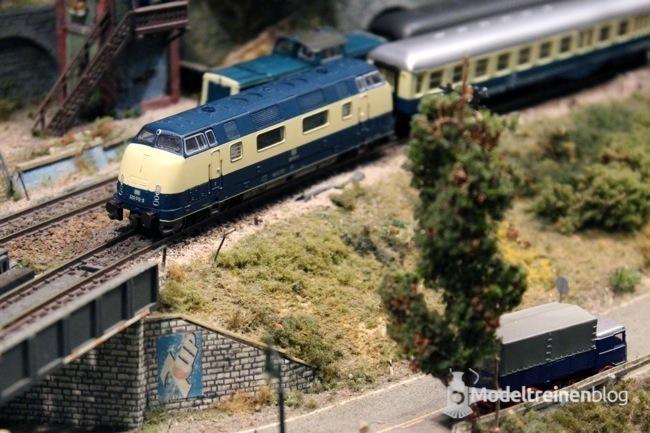 lahntalbahn modeltrein en tunnel
