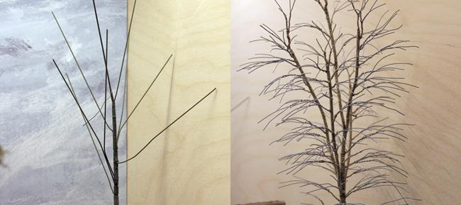 modelspoor bomen maken
