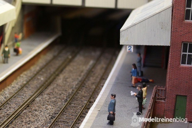 Engelse modelspoorbaan broad street viaduct