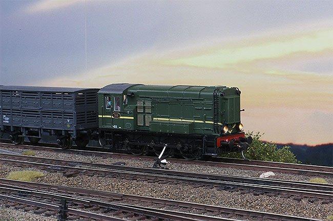 Modeltreinen Expo baan: Station Sauwerd