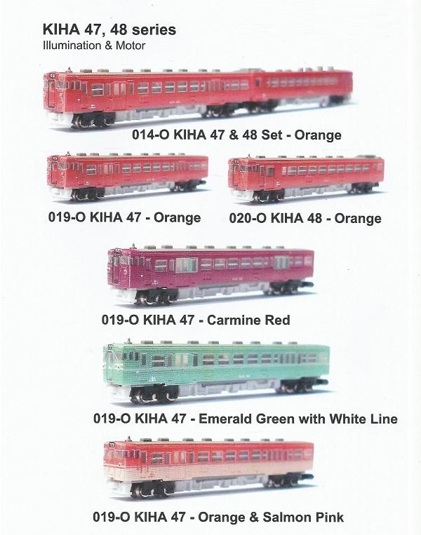 In de nieuwe catalogus van T-Gauge kom je nog steeds de treinstellen van het eerste uur tegen.