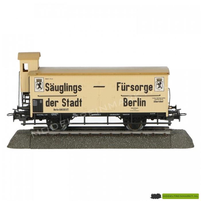Märklin-wagon met remmershuisje