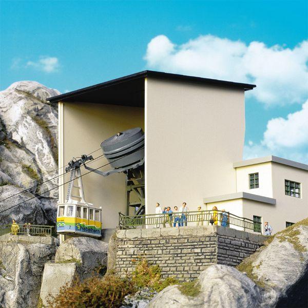 kabelbaan H0 Brawa Bergstation
